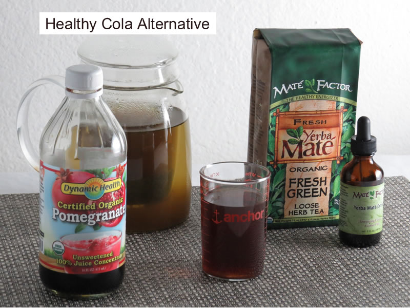 Recipe for Nutritious Cola Alternative