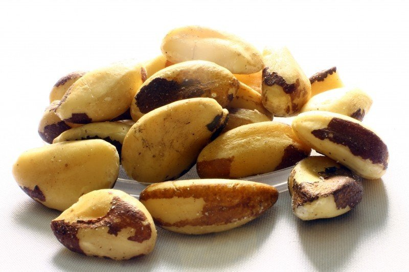 Magnesium rich brazil nuts